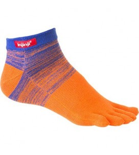 Injinji Sport Original Weight Micro Toe Socks - BLO