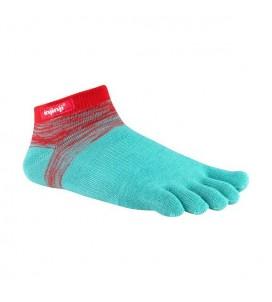 Injinji Sport Original Weight Micro Toe Socks - Peppermint