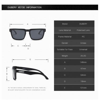 DUBERY DD710 Polarized Sunglasses Unisex