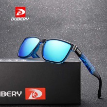 DUBERY DD518-02 Polarized Sunglasses Unisex - Black/Blue