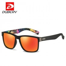 DUBERY DD518-05 Polarized Sunglasses Unisex - Sand Blk/Orange