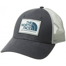 Authentic The North Face Mudder Trucker Cap - Asphlgry / Hgrsgry / Blucoral