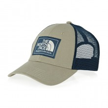 Authentic The North Face Mudder Trucker Cap - DUNE BEIGE/SHADY BLUE/PEYOTE BEIGE
