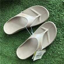 COQUI Unisex Flip Flop Recovery Sandal - Khaki