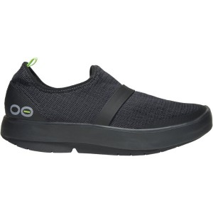 Women's Oofos OOmg Low Slip-On Recovery Shoe - Black