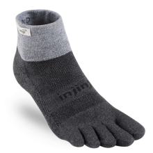 injinji Trail Midweight Mini-Crew - Granite