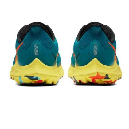 Authentic Nike Air Zoom Pegasus 36 Men's Trail-Running Shoe - Geode Teal/Bright Crimson