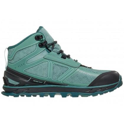 Altra Women's Lone Peak 4 Mid RSM Waterproof Hiking Shoes - Mineral Blue