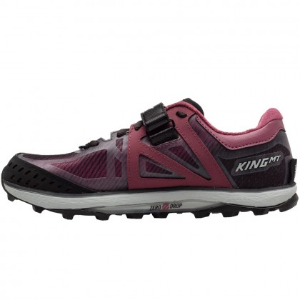 Altra King MT 2.0 Women's Trail-Running Shoes - Blk/Rose