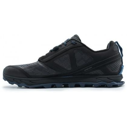 ALTRA LONE PEAK 4 MEN'S LOW RSM WATERPROOF TRAIL RUNNING - BLACK/BLUE
