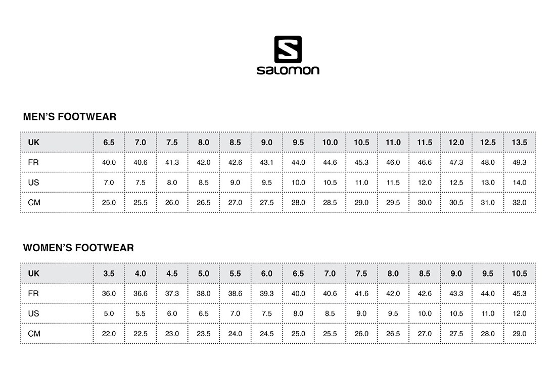 salomon speedcross 3 size chart european herren